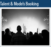 Talent & Models Booking